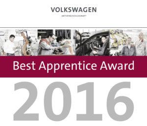 Best Apprentice Award 2016: Volkswagen Konzern zeichnet seine weltweit besten Auszubildenden aus