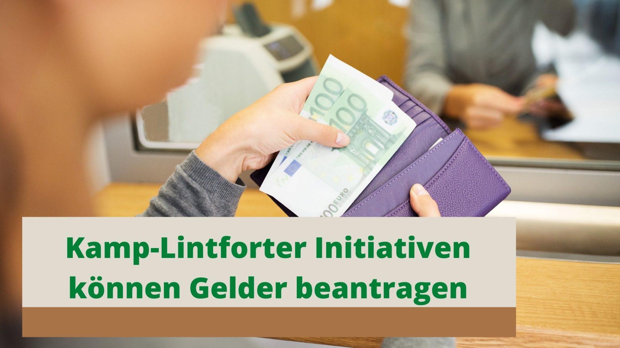 Land NRW und Stadt Kamp-Lintfort unterstützen ehrenamtliche Coronahilfen