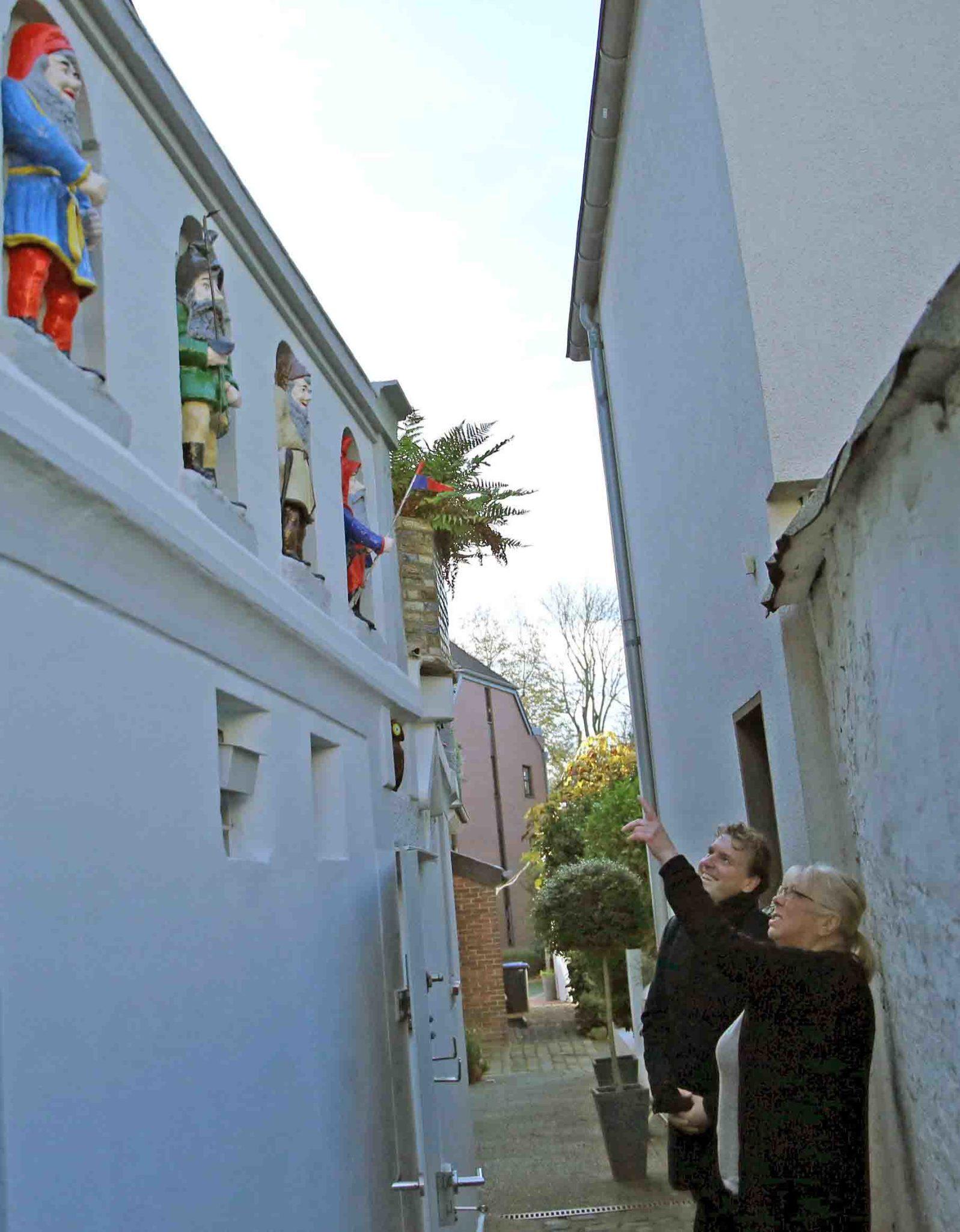Privates Engagement: 8.000 Euro für den Erhalt der Moerser Zwerge