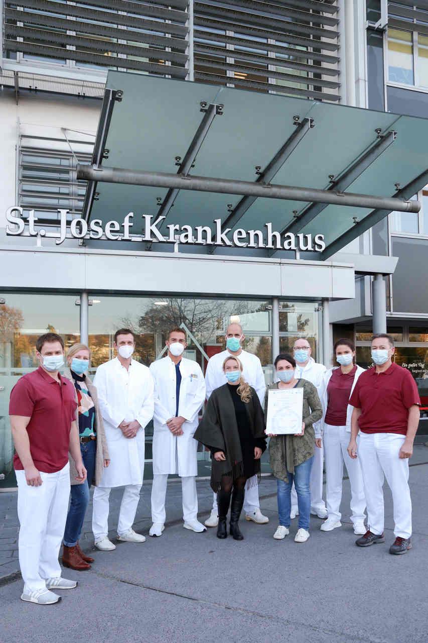 Erstes Endoprothetikzentrum der Maximalversorgung der Region am St. Josef Krankenhaus