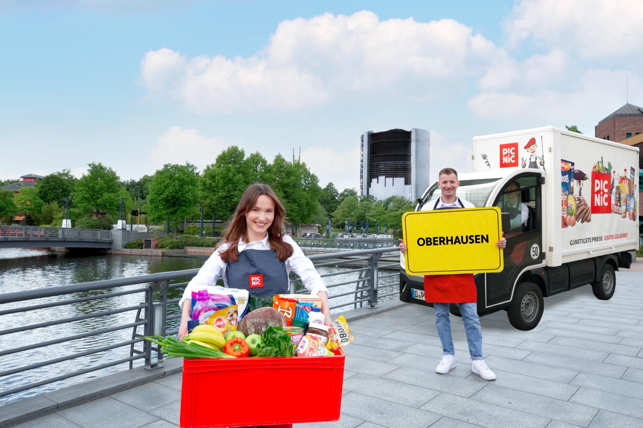 Picnic erreicht insgesamt nun eine Million Haushalte im Ruhrgebiet