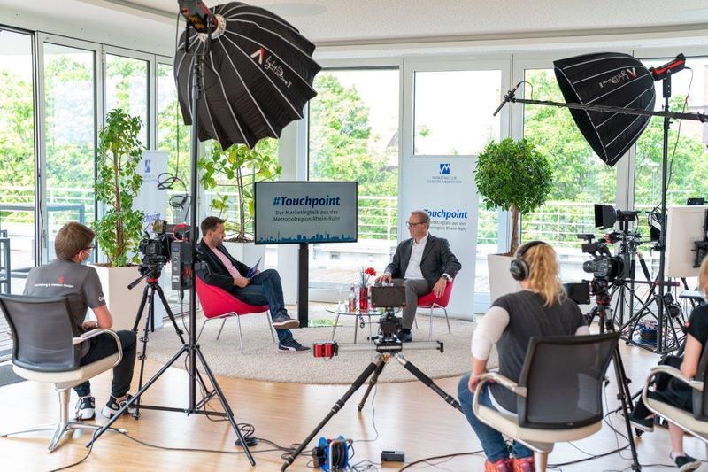 Der Marketingclub Duisburg Niederrhein im wöchentlichen Talk